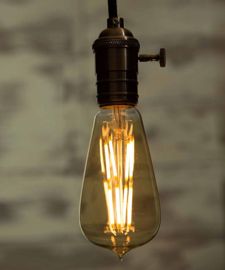 Vintage Light Bulb LED - Large Globe LED 8 Filaments - William&Watson