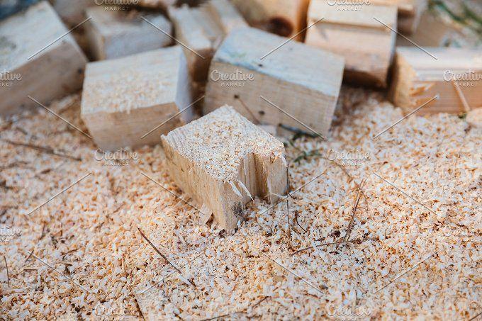 Cut firewood by OSORIOartist on @creativemarket