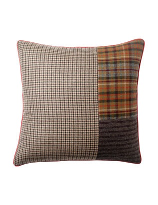 I can make one of these with leftover Ralph Lauren tweeds, wools and plaids!!