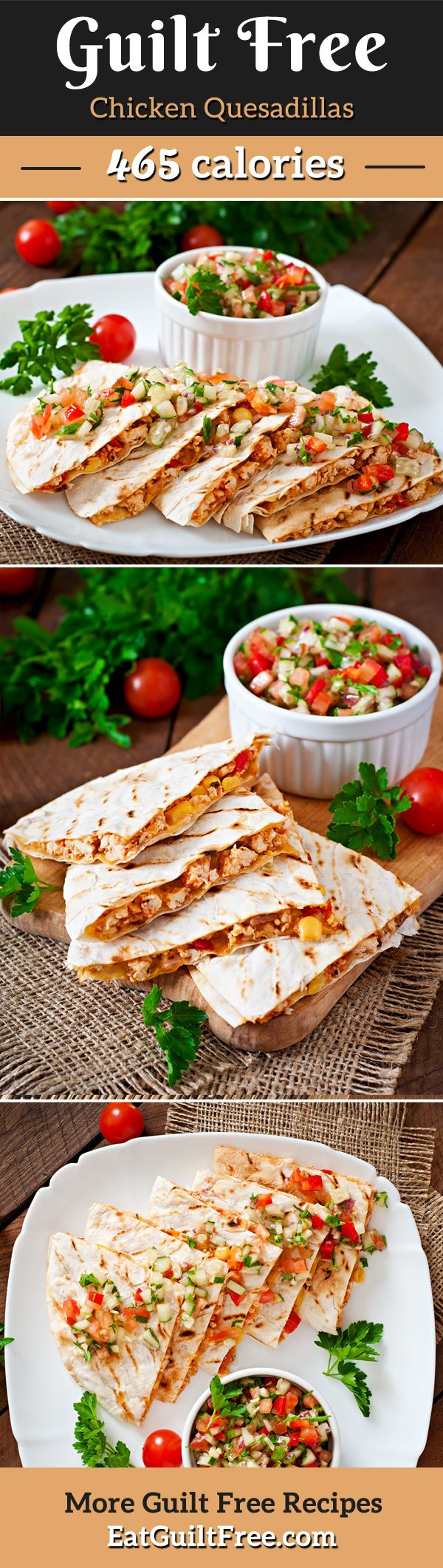 Easy chicken quesadilla recipe for when you have the munchies!