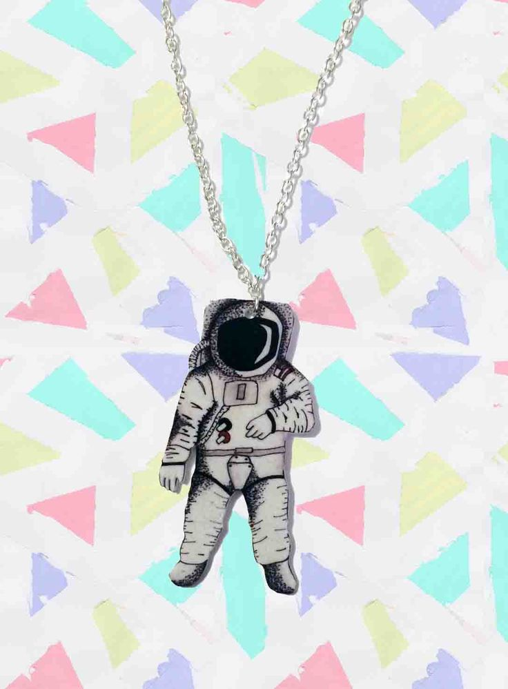 Space Man Necklace