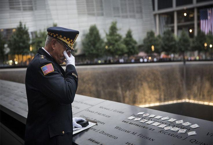 conmemoración de los 13 años del 9/11 en Nueva York