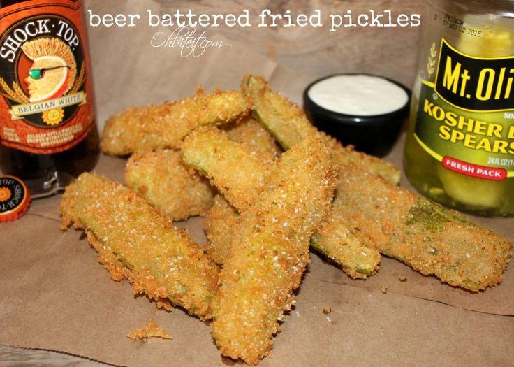 ~Beer Battered Fried Pickles! | Oh Bite It