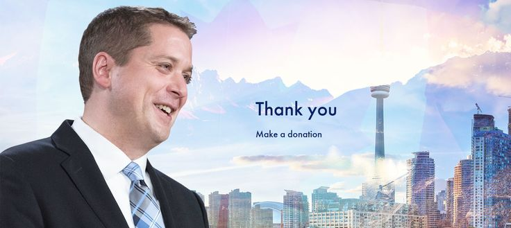This Canadian Politician's Creepy Website