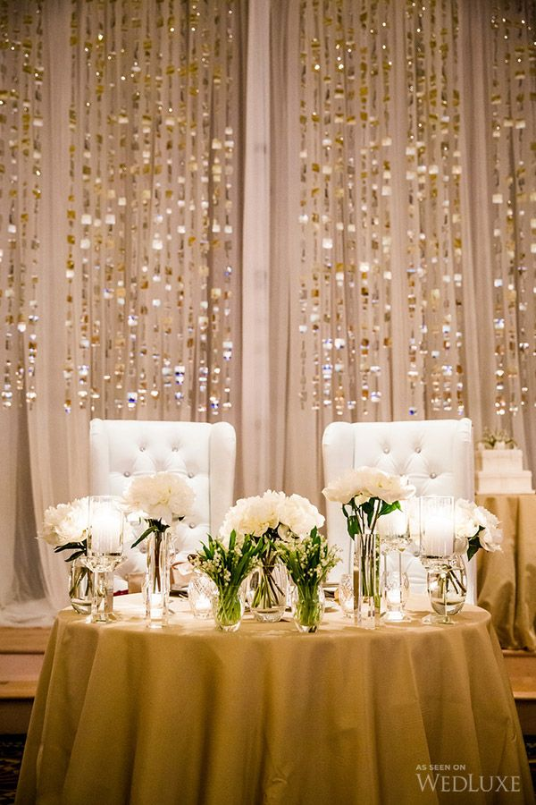 Wedding Reception Decorations Head Table : Best head table backdrop ideas on