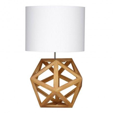 Hexagon Table Lamp