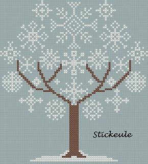 snow tree freebie