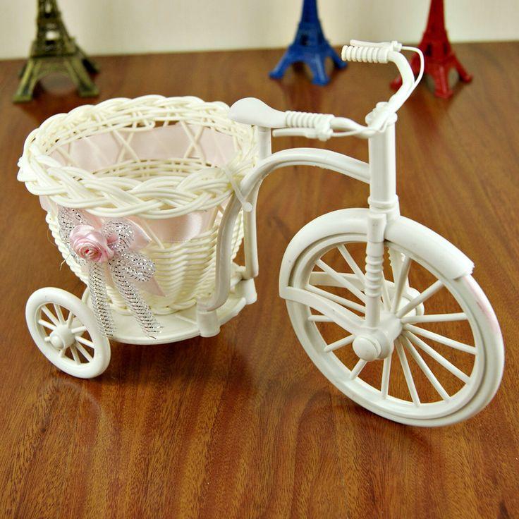 18 большое колесо трехколесный велосипед, Чистые ремесла, Ротанга корзины хранения мусора иу купить на AliExpress