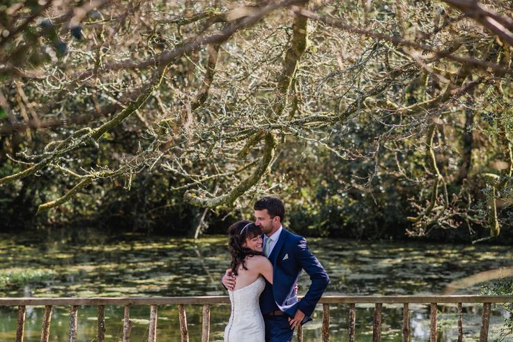Marie & Guy have having a quiet little moment on their own last week at Nancarrow Farm