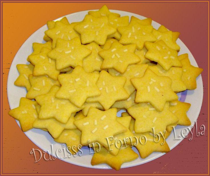Stelline alla vaniglia, ricetta biscotti