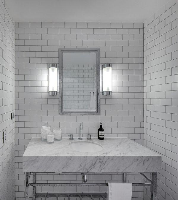 Tania Handelsmann Bathrooms Subway Tile White Subway Tile Subway Tiled Bathroom Walls Floor To Ceiling Subway Tile Subway Tile With