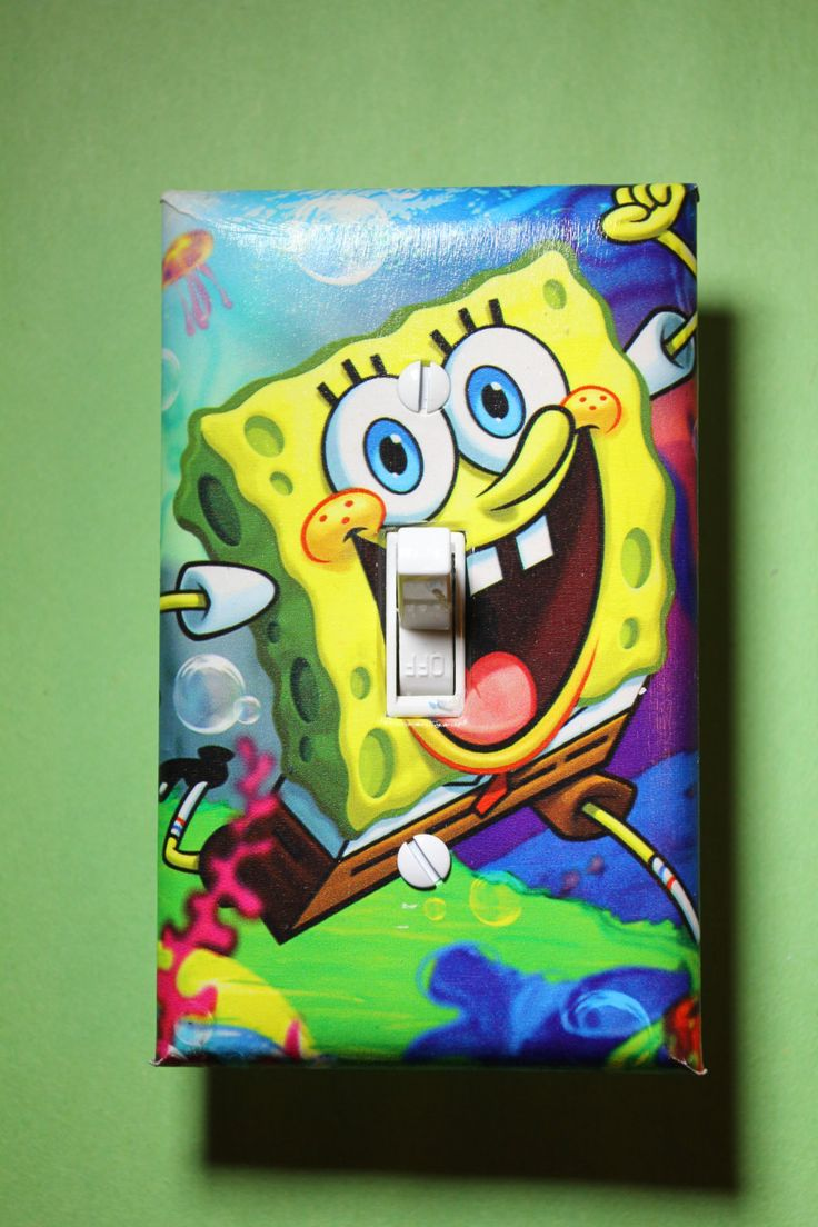 room home decor bedroom sponge bob square pants by comicrecycled on