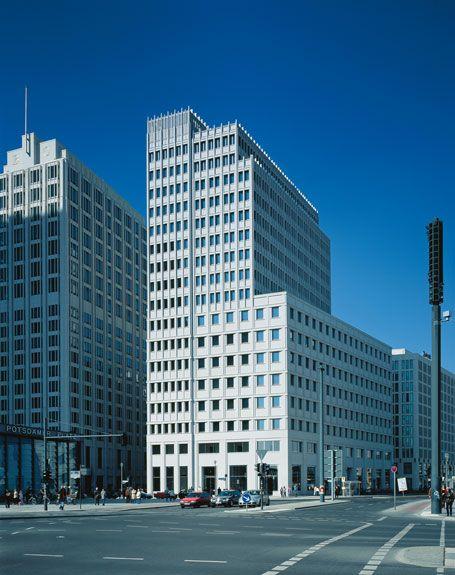Delbrück Highrise Building, Potsdamer Platz, Berlin
