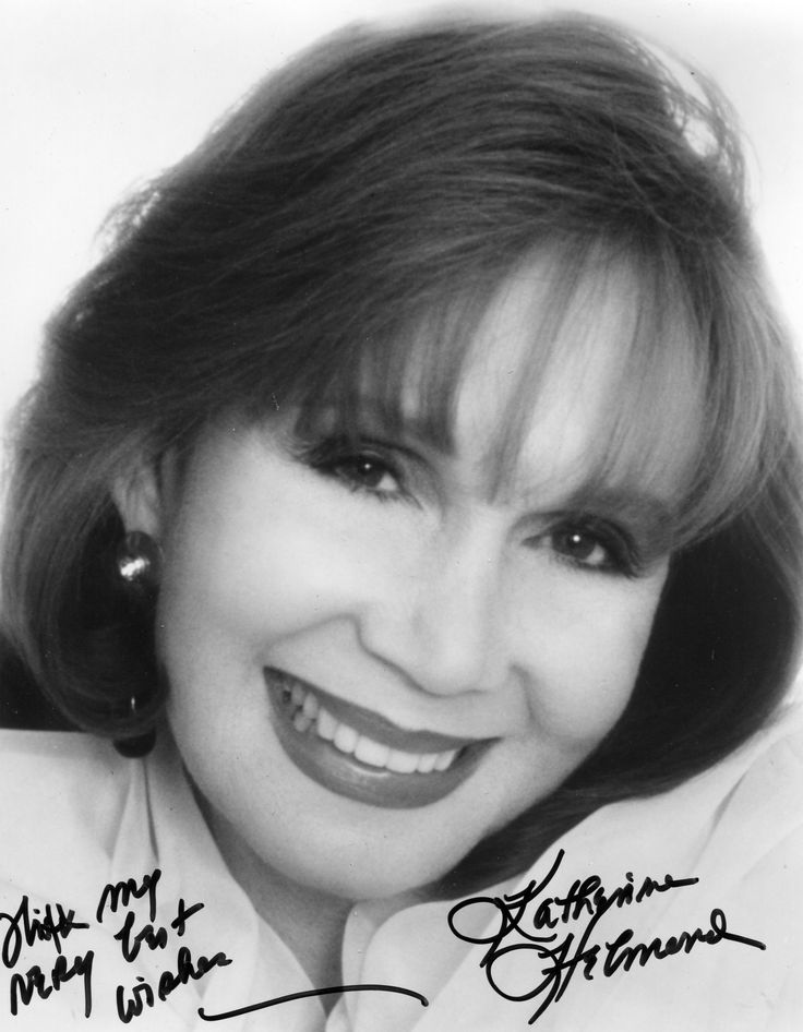 Katherine Helmond - (1929-  ) Actress of film, theater, TV series, soap operas, voice artist and director.