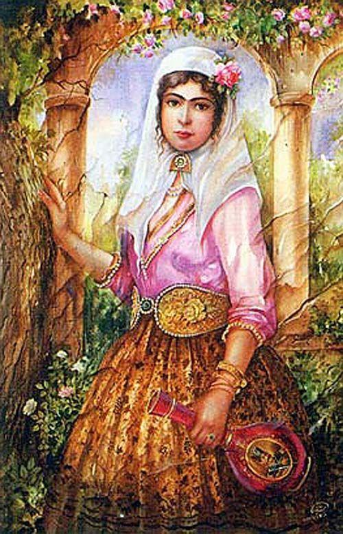 318 best images about ART: Persia - Qajar & Safavid ...