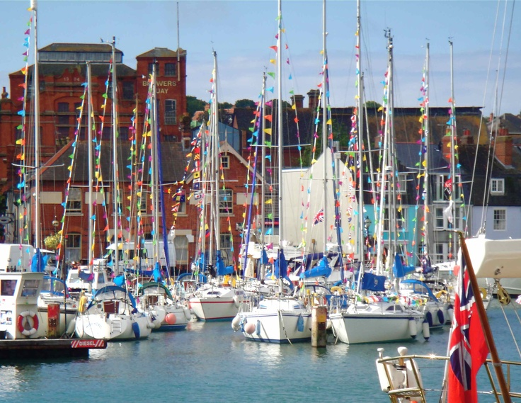 Olympic sailing town 2012, Weymouth, UK