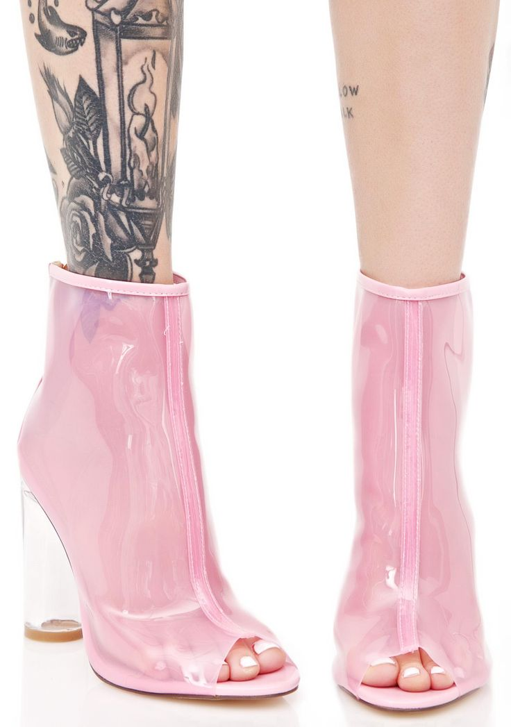 vegan Princess Pisces Peep-Toe Boots #vegan #vegetarian #shoes