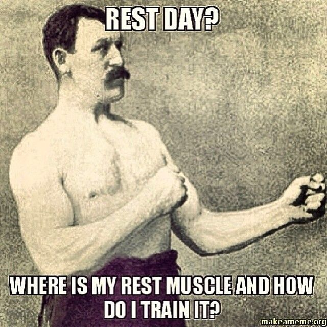 Rest day? #humor #fitness #haha