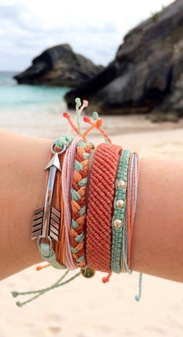 Shore Break Style Pack of Bracelets