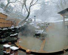 Ikaho outdoor bath. Looking for more information aboout Gunma? Go Visit Shibukawaikaho Hot Springs Tourism Association. http://www2.wind.ne.jp/
