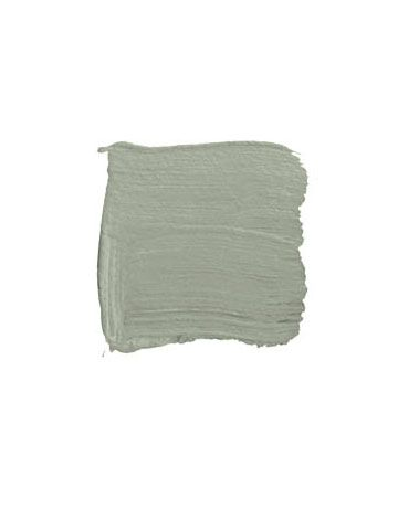 I think it's safe to call this color from Restoration Hardware a classic. Silver Sage is not too gray nor too green and goes with about everything. In our old house, I received so many compliments on this color, paired there with a lot of cream.