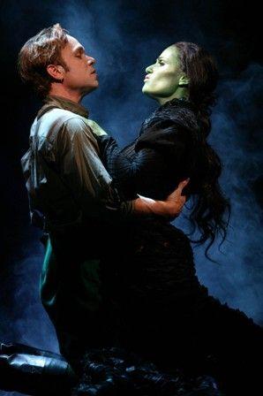 Idina Menzel and Norbert Leo Butz on Broadway