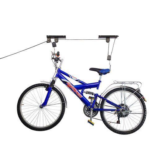 Rad Cycle Products Bike Lift Hoist Garage Mountain Bicycle Hoist 100Lb Capacity (2-Pack), 2015 Amazon Top Rated Bike Racks & Stands #Sports