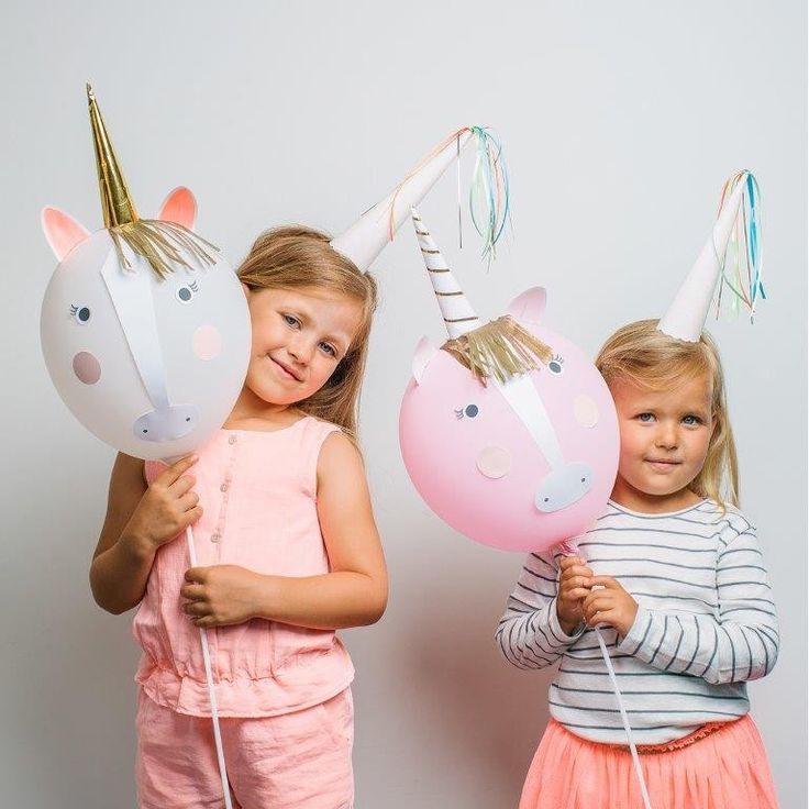 Online-Shop für exklusive Kindergeburtstage und Mottopartys - Ballons Einhornfiguren