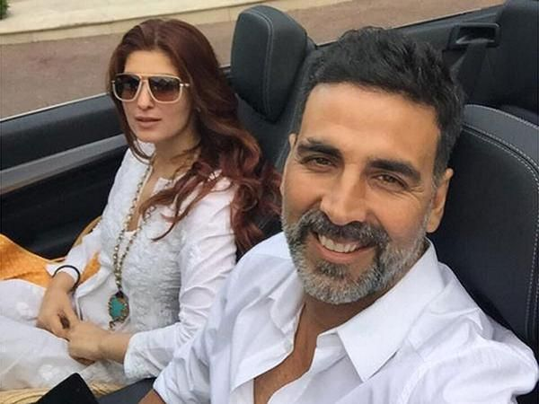 PIC: Akshay Kumar's adorable moment with wifey Twinkle Khanna on her birthday