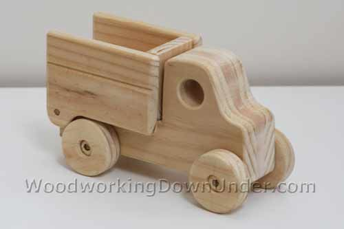 Wooden Truck Plans fun to build