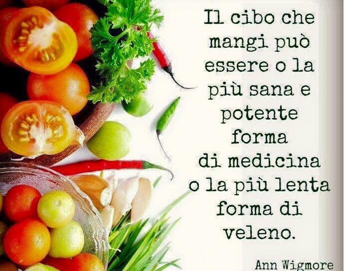 La nostra salute è nostra responsabilità: siamo quello che mangiamo! Chi hai deciso di essere?   #EnjoyForever