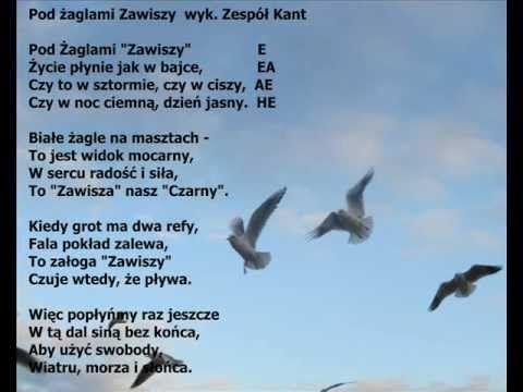 Pod żaglami ZAWISZY wyk. zespół Kant