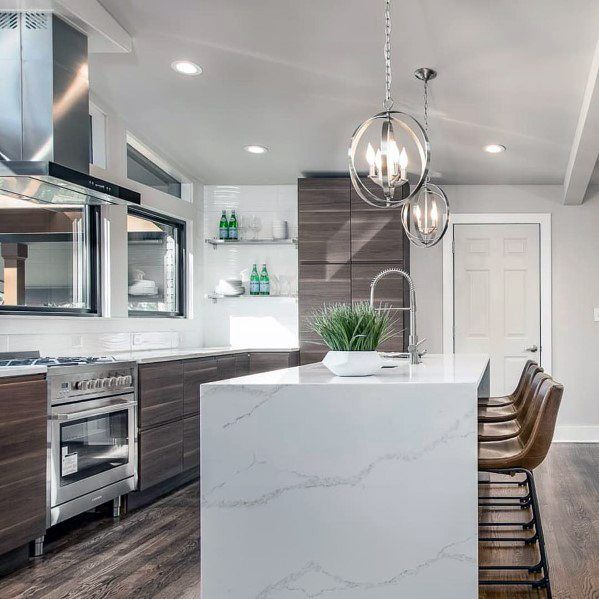 Sleek Kitchen Island Lighting Ideas