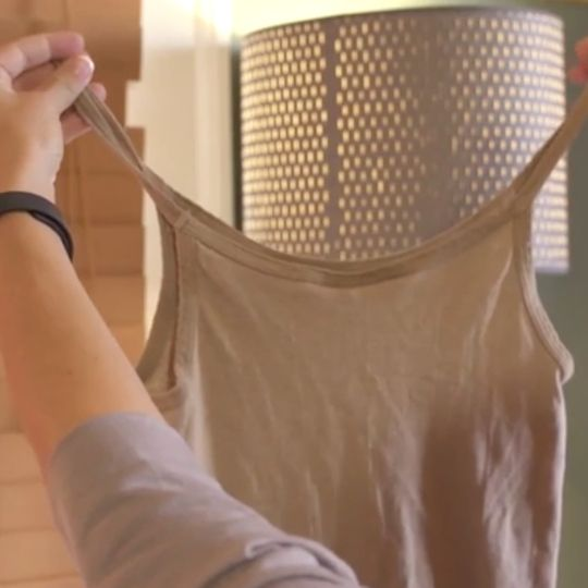 When is a tank top not a tank top? When you turn it into a tote!