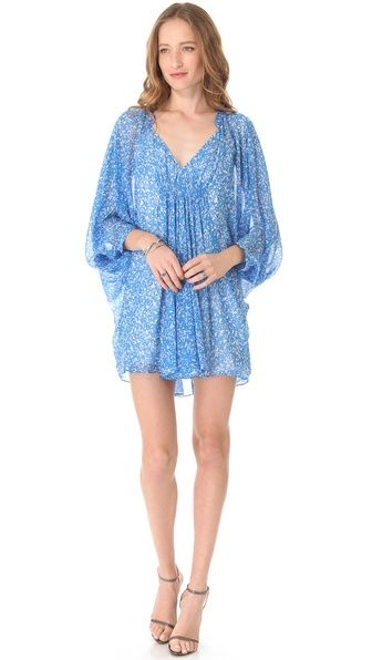 Diane von Furstenberg Fleurette Printed Dress