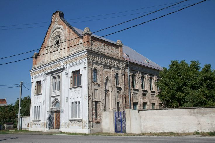 Nagysurány Orthodox Synagogue in Nyítra County (Šurany, Slovakia).  In 1779, there were 220 Jews in the town.   By 1930,there were 772 Jews declining to 563 by 1941.  Most perished in Auschwitz.  In 1948, there were 50 Jews in town most abandoned the town after 1949.