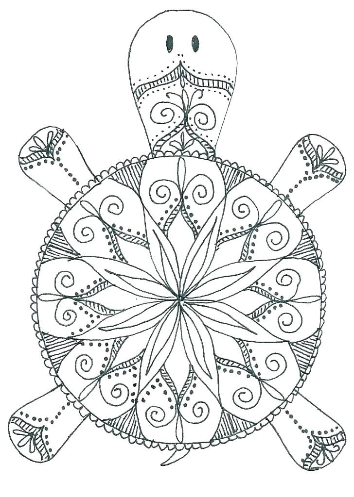 Animal Mandala Coloring Sheets Easy Mandalas To Color Coloring