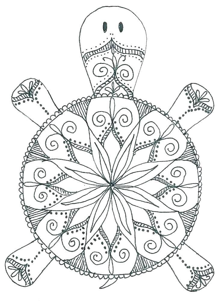 Animal Mandala Coloring Sheets Easy Mandalas To Color ... | mandala art coloring pages animals
