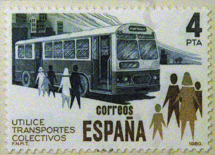 Sellos - Utilice el transporte colectivo