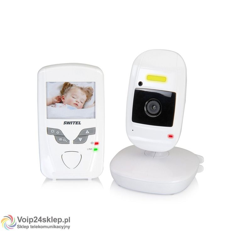 Elektroniczna niania z kamerą Switel BCF 827 #elektronicznaniania #switel #wideoniania #babymonitor