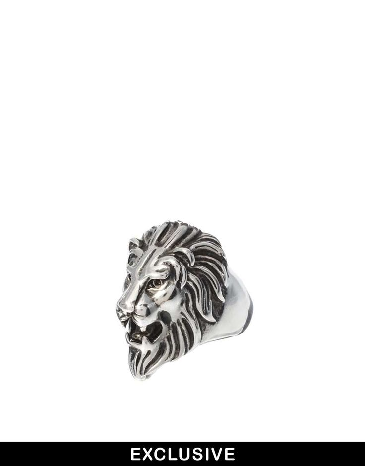 Reclaimed Vintage Power Lion Ring on Wantering | holiday fashion for guys | menswear | mens ring | mens style | mens fashion | wantering http://www.wantering.com/mens-clothing-item/reclaimed-vintage-power-lion-ring/acG28/