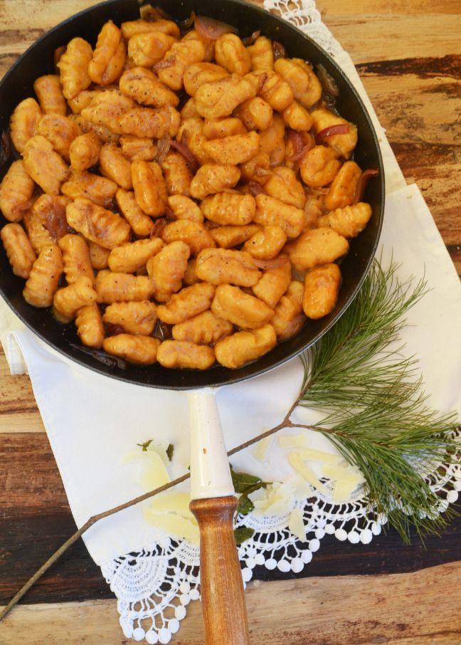 Süßkartoffel-Gnocchi