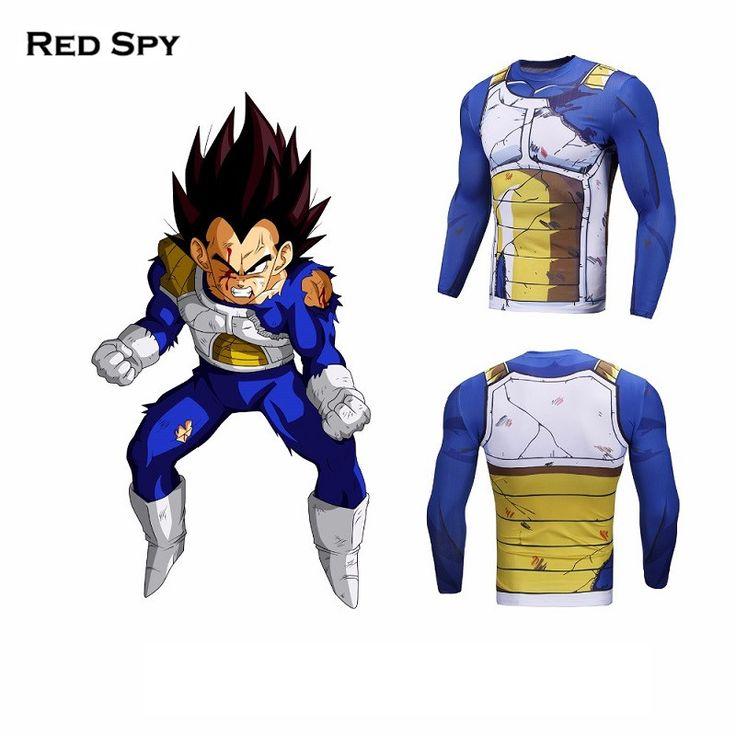 3D Dragon Ball Z Men Women Compression Shirt Vegeta Goku 3D Printed Long Sleeve T Shirt Tee Fitness Male Crossfit Tops Pokemon #Affiliate