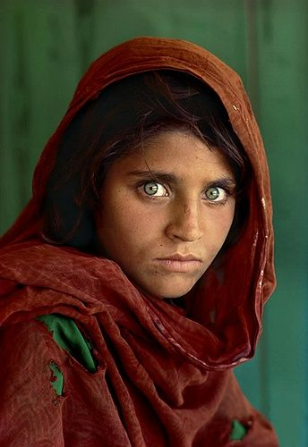 Known only as the Afghan girl — her real identity unknown until she was rediscovered in 2002 — Sharbat Gula's face became one of the most iconic National Geographic covers of all time, and a symbol of the struggle of refugees everywhere.