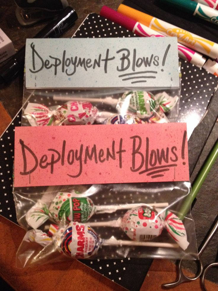 I made these for my boyfriend who is deployed!! -Michelle (-: