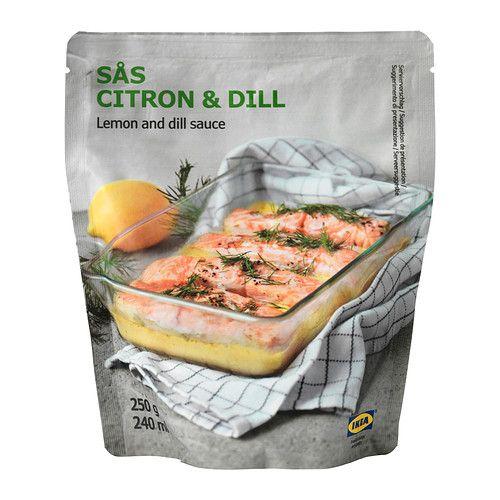 SÅS CITRON & DILL Lemon- and dill sauce - IKEA