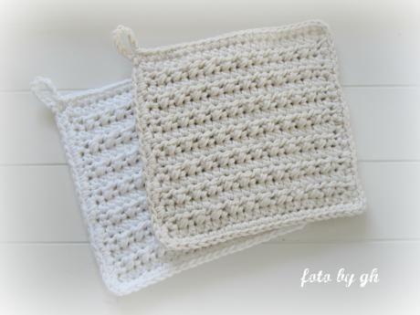 *Das Dicke*  bäuerliche Spültücher  - robust und kräftig durch rubbelige Oberflächen  Maß ca. 14x15cm   Material:  cotton fun 100% Baumw...