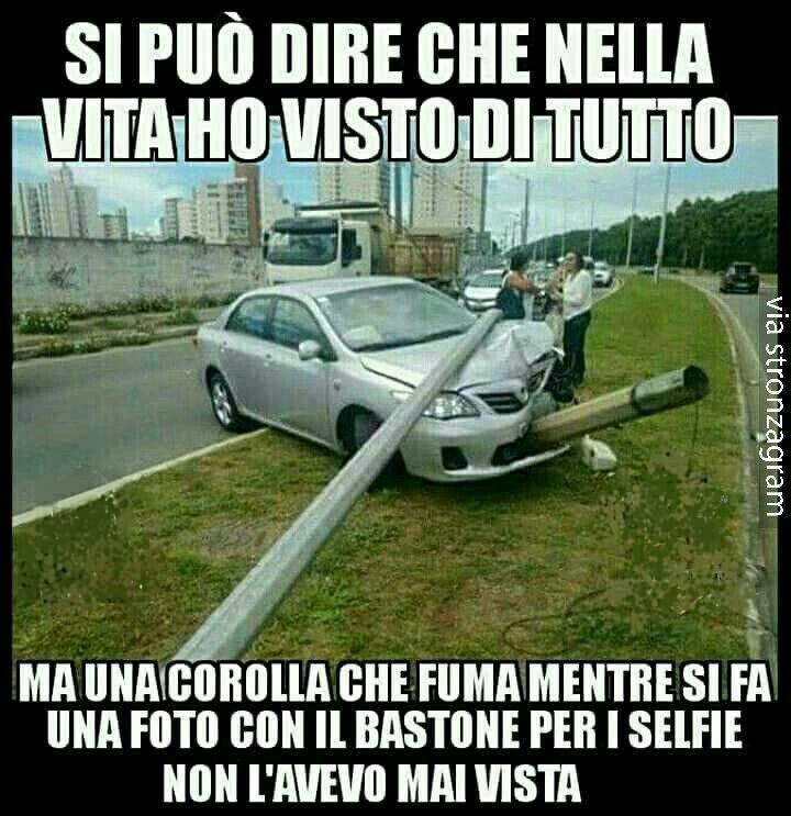 selfie estremo...