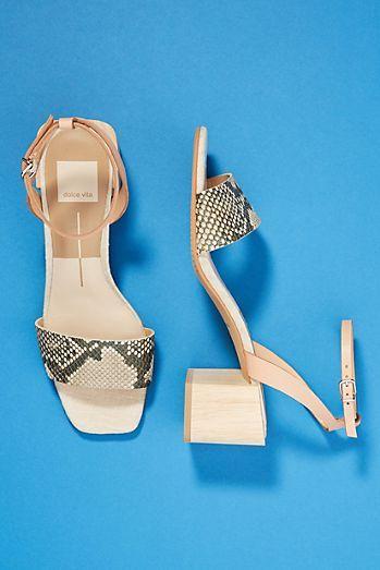 ed7d39c1e4f1 Dolce Vita Zarita Block-Heeled Sandals
