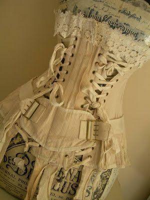 vintage medical corset